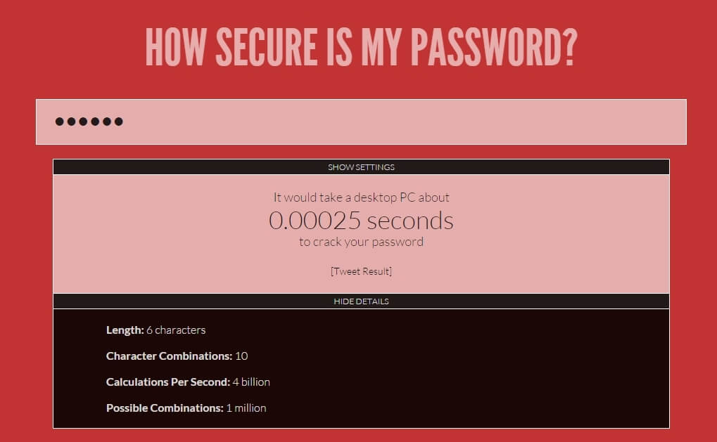 HSIMP? Not Secure!